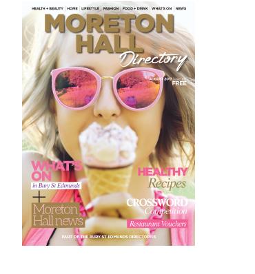 August 2017 - Moreton Hall