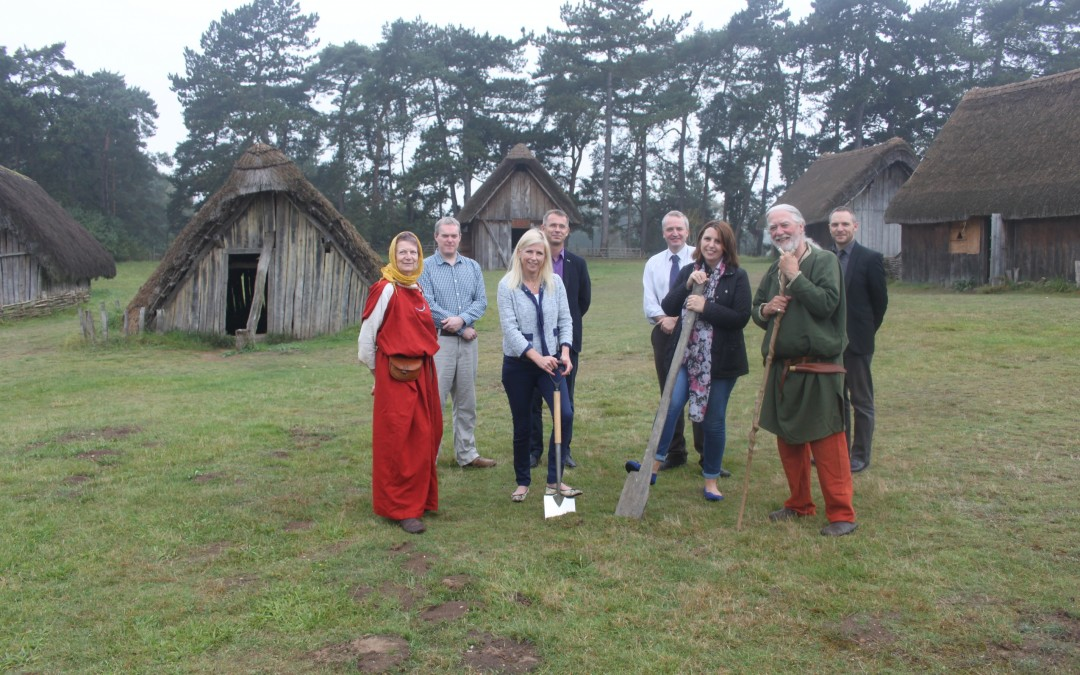 First Anglo-Saxon house build in nearly a decade at West Stow