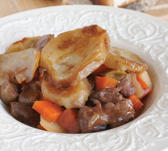 Lamb & Dauphinoise Hotpot Recipe – January 2016